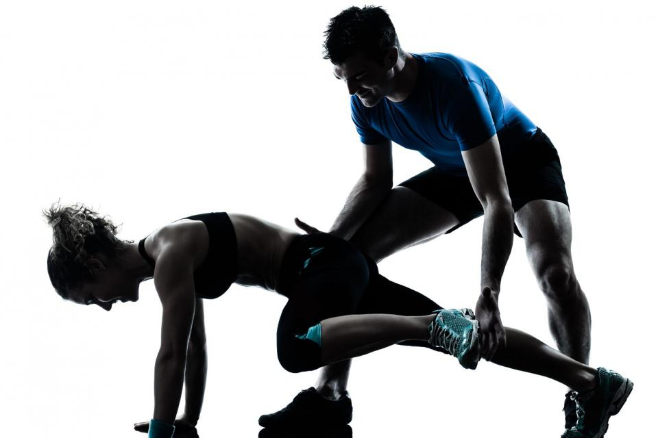 Personal fitness training with our instructors